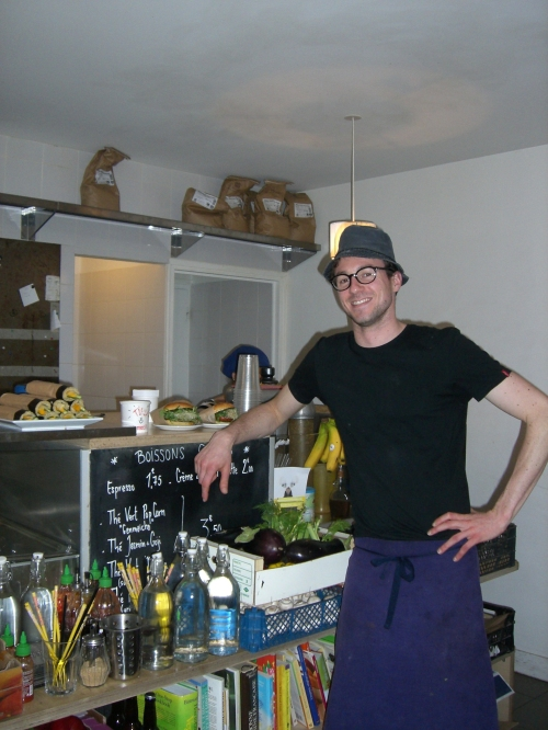 Amoury, co-owner of Bob's Kitchen, Paris