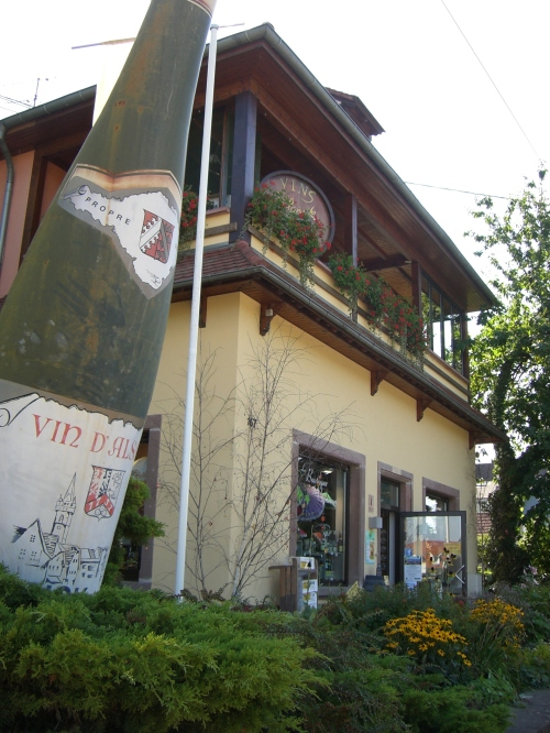Winery and Wine Shop next to Le Parc Hotel, Obernai, Alsace - Local Food And Wine photo by Paige Donner c. 2011