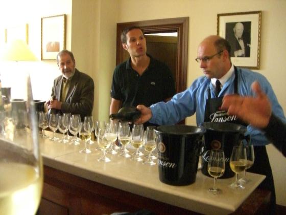 Gandon, Enguerrand Lanson Tasting Room, Reims - Local Food And Wine