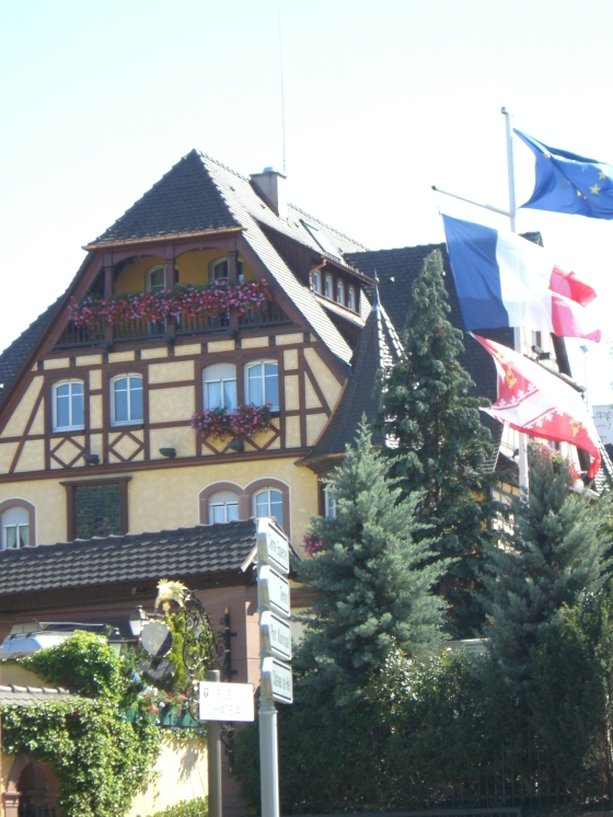 Le Parc Hotel Obernai, Alsace - Local Food And Wine photo by Paige Donner c. 2011