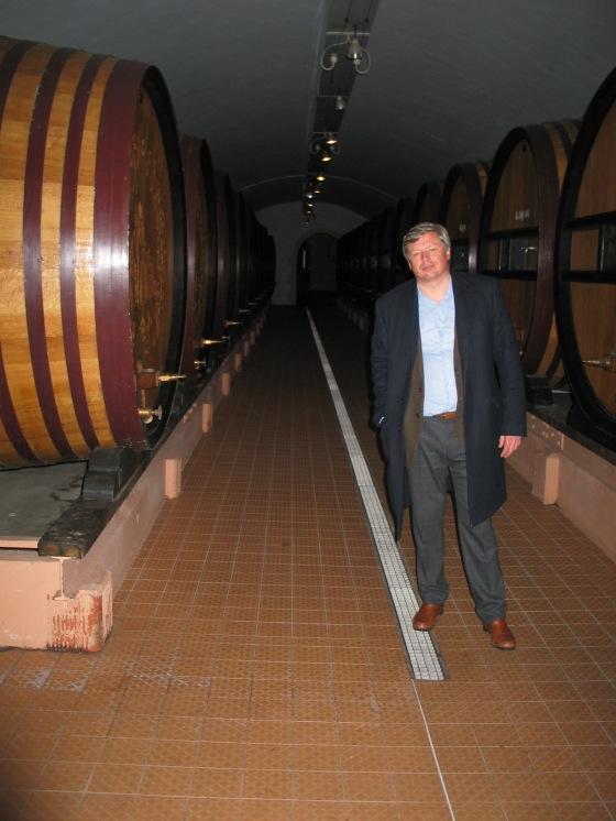 Jean-Baptiste Lécaillon, Chef de Caves, Roederer. photo c. '13 Paige Donner.