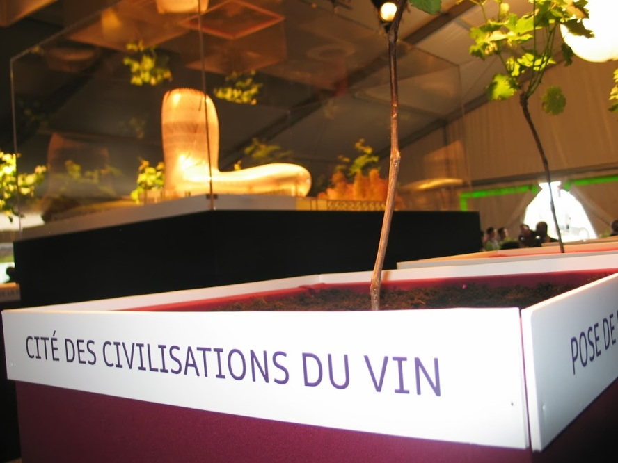 Cite des Civilisations du Vin  Inauguration Vinexpo Bordeaux Inauguration June 19 photo 1 by Paige Donner c. 2013 - Copy - Copy