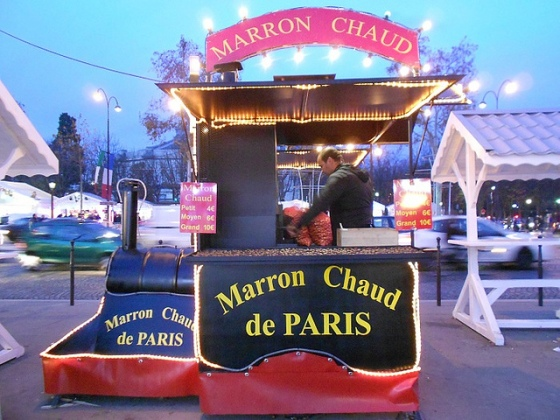 Local food and wine Marron Chaud