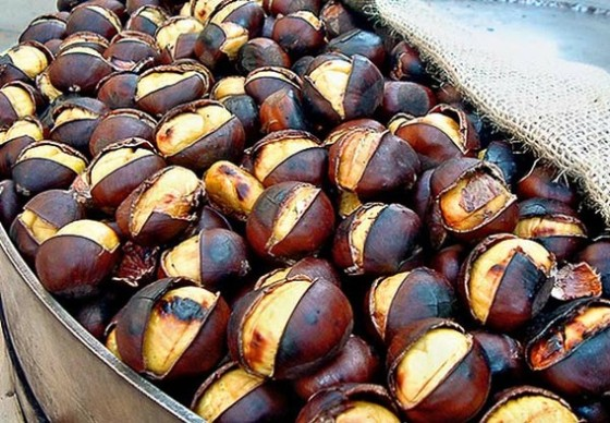 Local Food And Wine - roasted chestnuts