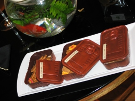 Sardine tins made out of chocolate! by a 3-star French Chef!