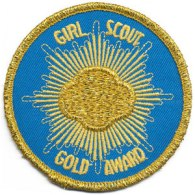 local food and wine girls scout gold award patch