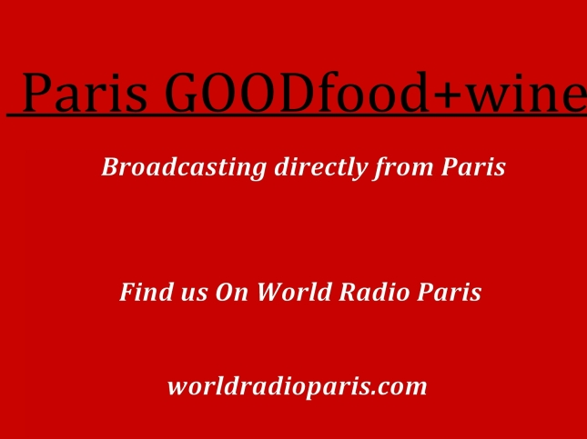 I love Paris GOOdfood+wine title and end slide text only