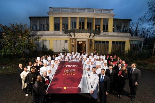 Chef Yannick Alléno Paris/ Pavillon Ledoyen  3 Etoiles Michelin/  Février 2015