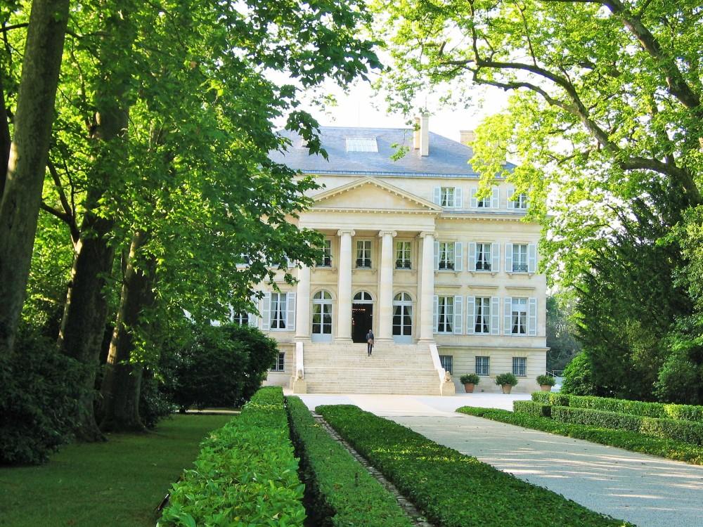 Château Margaux, Premier Grand Cru Classé à Margaux, Médoc, classement de 1855 photo copyright Paige Donner 2015