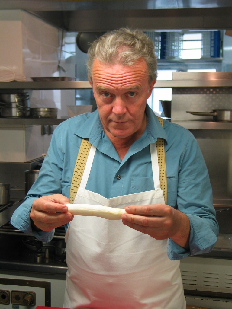 Chef Alain Passard of Arpège Restaurant Paris photo by Paige Donner copyright 2015