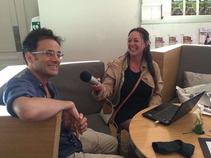 arnaud-faugas-paige-interviewing-at-civb