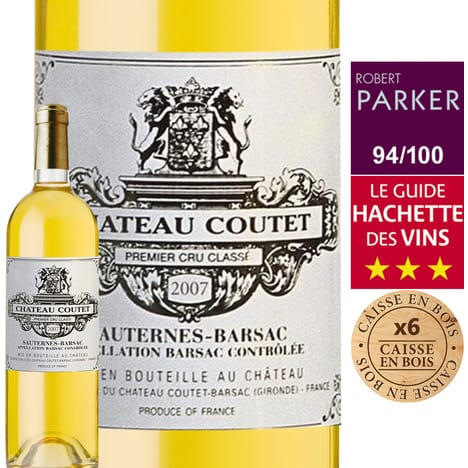 chateau coutet with tasting notes 11772562898974