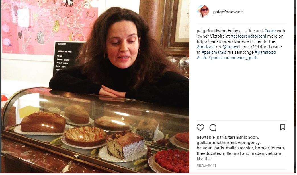 Victoire de Taillac Grand Café Tortoni photo by Paigefoodwine Instagram