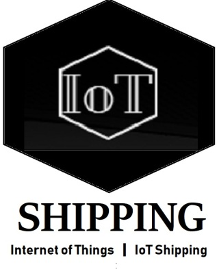 logo with lettering IOT shipping