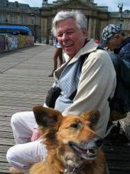 Eugene Donner - Dad - with Idéale Paris 2015 photo by Paige Donner copyirght IMG_1232