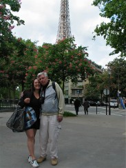 Eugene Donner - Dad - with me Paris 2015 photo Paige Donner copyirght IMG_1254