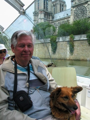 Eugene Donner - Dad - with me Paris 2015 photo Paige Donner copyirght IMG_1280