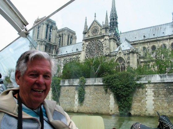 Eugene Donner - Dad - with me Paris 2015 photo Paige Donner copyirght IMG_1282