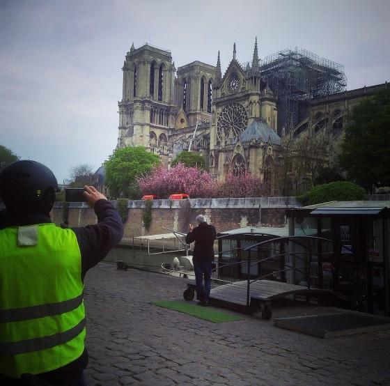 Notre Dame de Paris Incendie Day After April 16 2019 photo by Paige Donner copyright 2019 IMG_4738